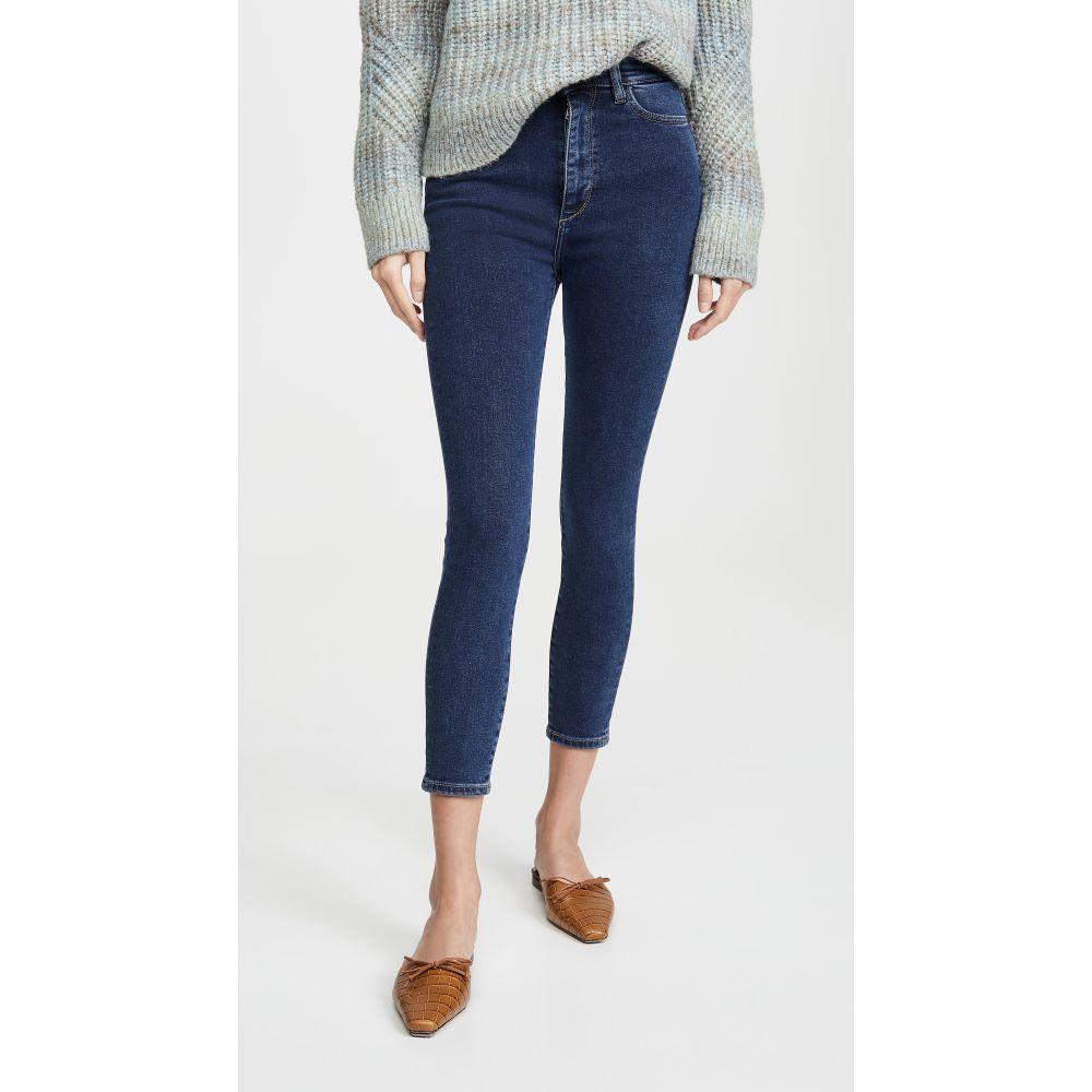 ディーエル1961 DL1961 レディース ジーンズ・デニム ボトムス・パンツ【Chrissy Cropped Ultra High Rise Skinny Jeans】Prussia