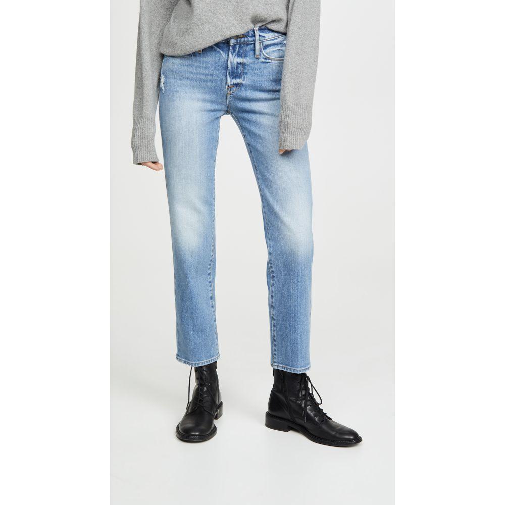 フレーム FRAME レディース ジーンズ・デニム ボトムス・パンツ【Le Nouveau Straight Jeans】Mirada Rips