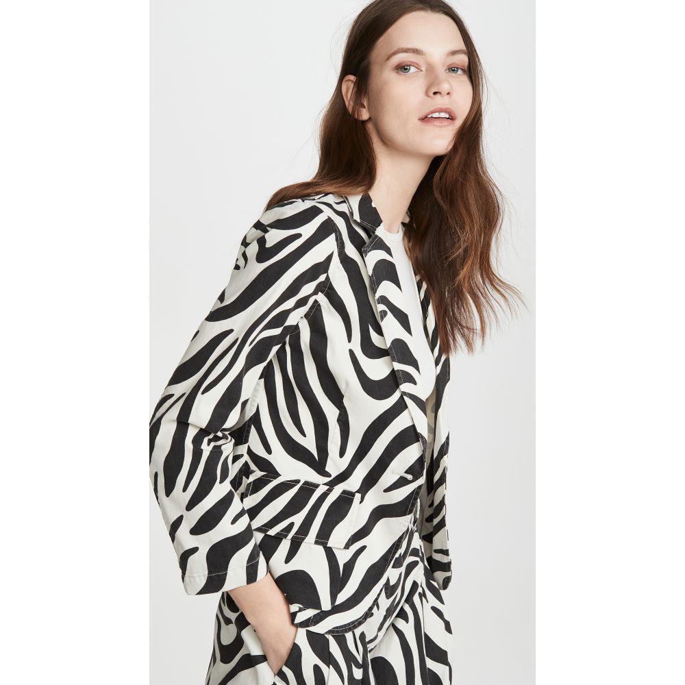 ニリ ロータン Nili Lotan レディース スーツ・ジャケット アウター【Addison Blazer】Zebra Print