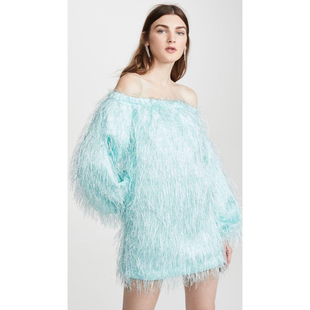 ロテート ROTATE レディース ワンピース ワンピース・ドレス【Gloria Feather Dress】Skylight