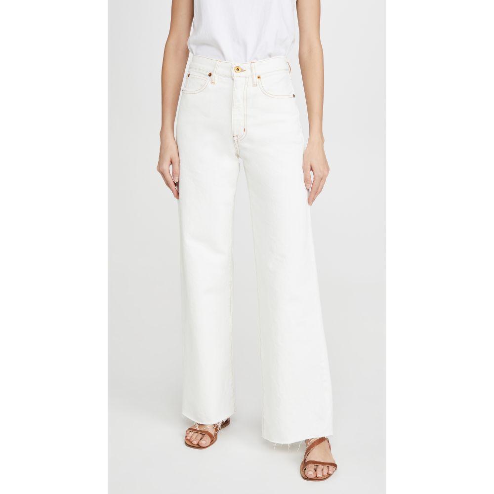 シルバーレーク SLVRLAKE レディース ジーンズ・デニム ボトムス・パンツ【Grace Jeans】Natural White