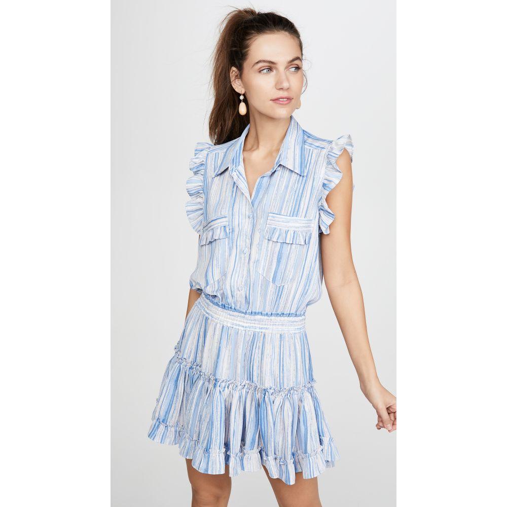 ミサ MISA レディース ワンピース ワンピース・ドレス【Carlota Dress】Abstract Stripe