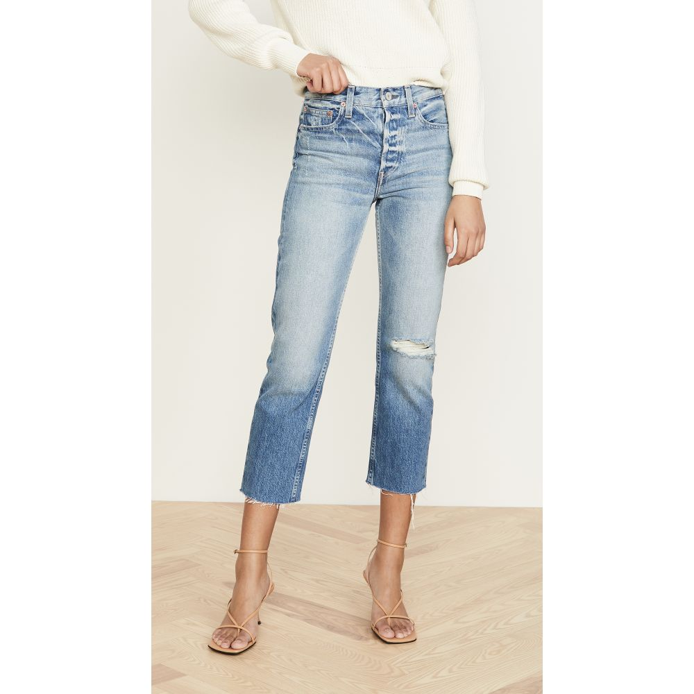 TRAVE レディース ジーンズ・デニム ボトムス・パンツ【Constance Cropped Straight Jeans】Under Pressure
