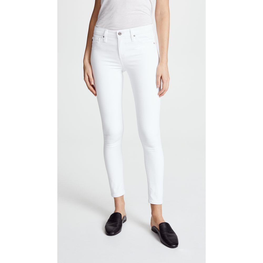 エージー AG レディース ジーンズ・デニム ボトムス・パンツ【The Legging Ankle Jeans】White