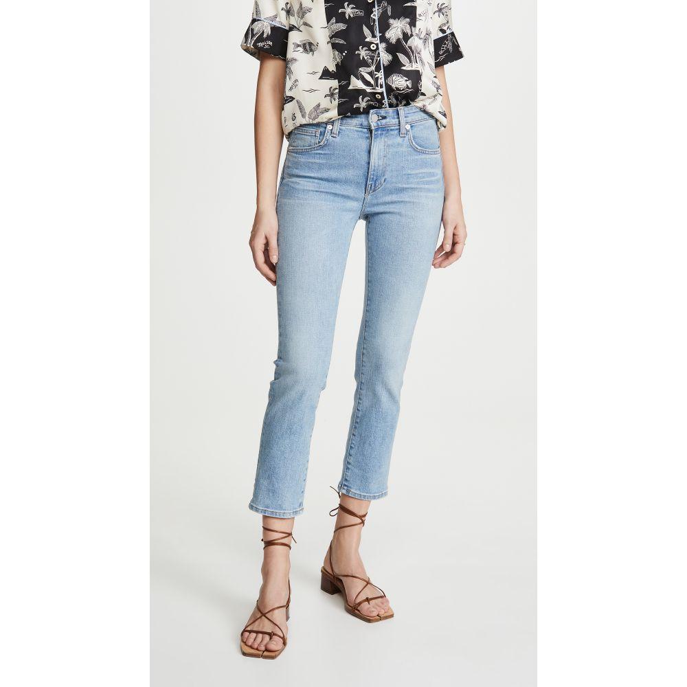 CQY レディース ジーンズ・デニム ボトムス・パンツ【Friend High-Rise Straight Leg Jeans】Hint