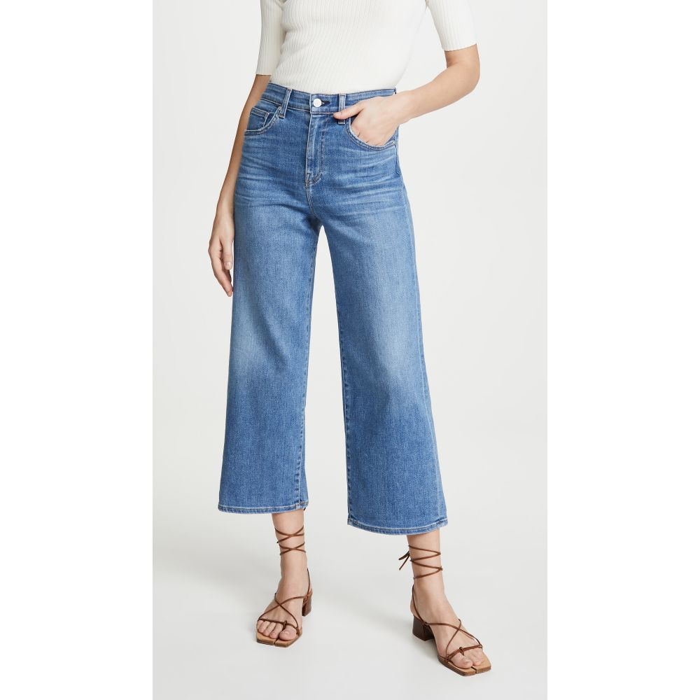 CQY レディース ジーンズ・デニム ボトムス・パンツ【Sunday Wide-Leg Crop Jeans】Joy