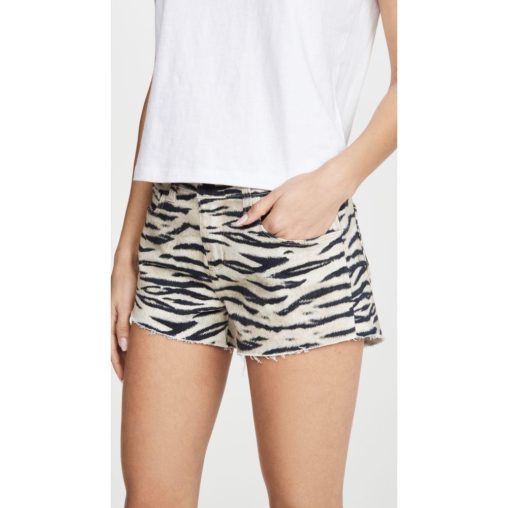 ラジャンス L'AGENCE レディース ショートパンツ ボトムス・パンツ【Audrey Mid Rise Wildcat Shorts】Coconut Husk Wildcat