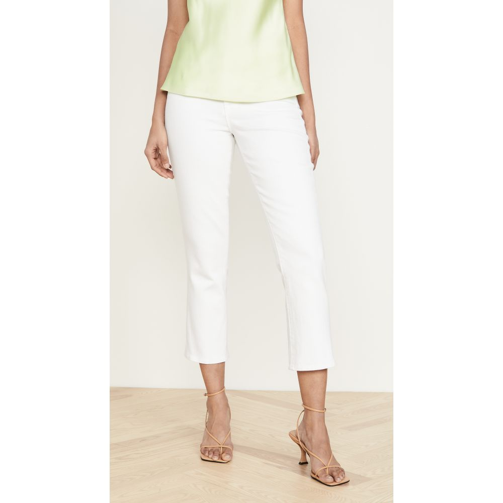 ラジャンス L'AGENCE レディース ジーンズ・デニム ボトムス・パンツ【Nadia High Rise Crop Straight Jeans】Blanc