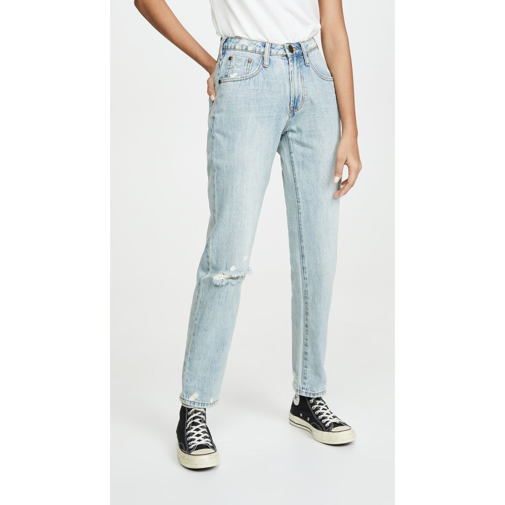 ワン ティースプーン One Teaspoon レディース ジーンズ・デニム ボトムス・パンツ【Awesome Baggies High Waist Straight Leg Jeans】Kansas Blue