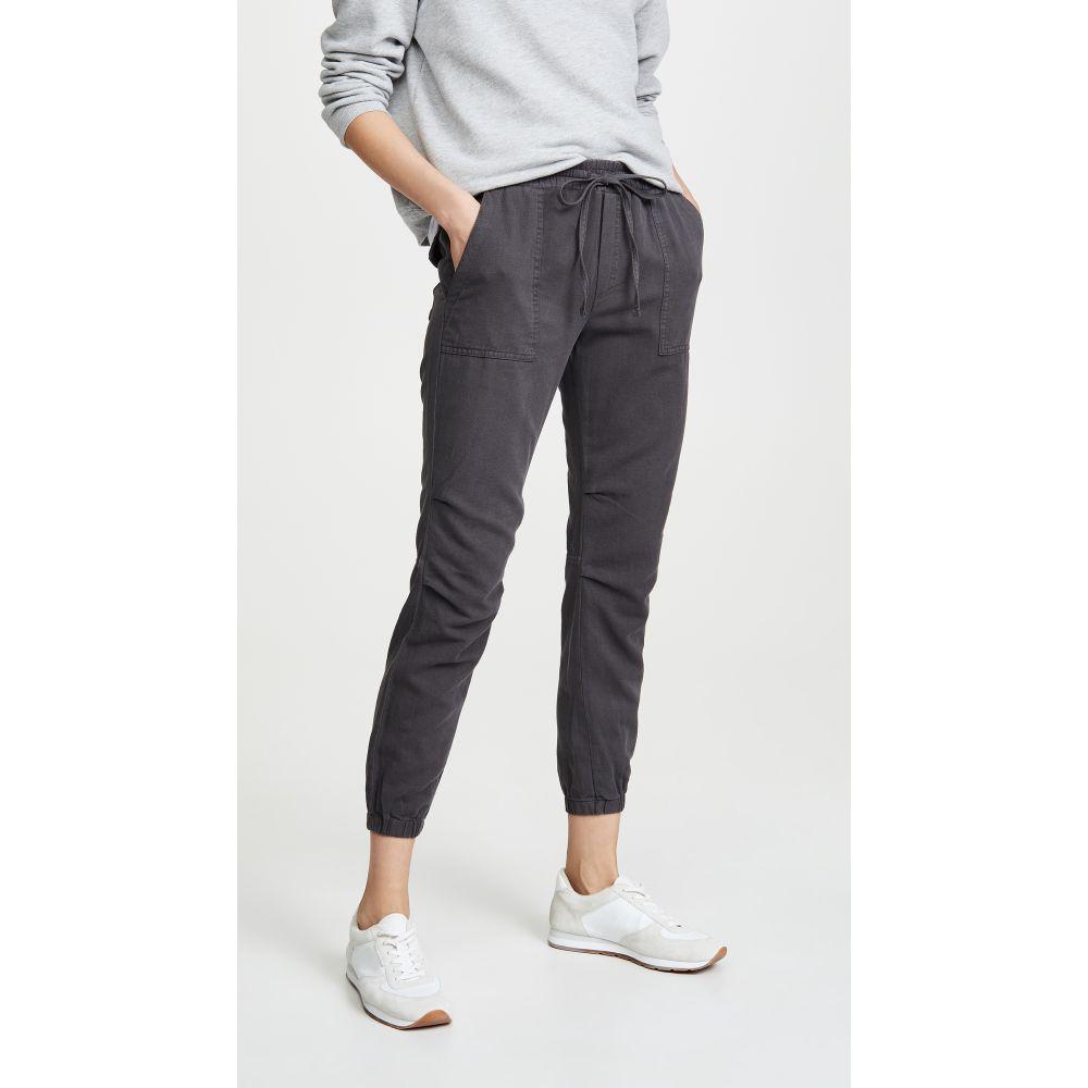 モンロー MONROW レディース スウェット・ジャージ ボトムス・パンツ【Patch Pocket Sweatpants】Vintage Black