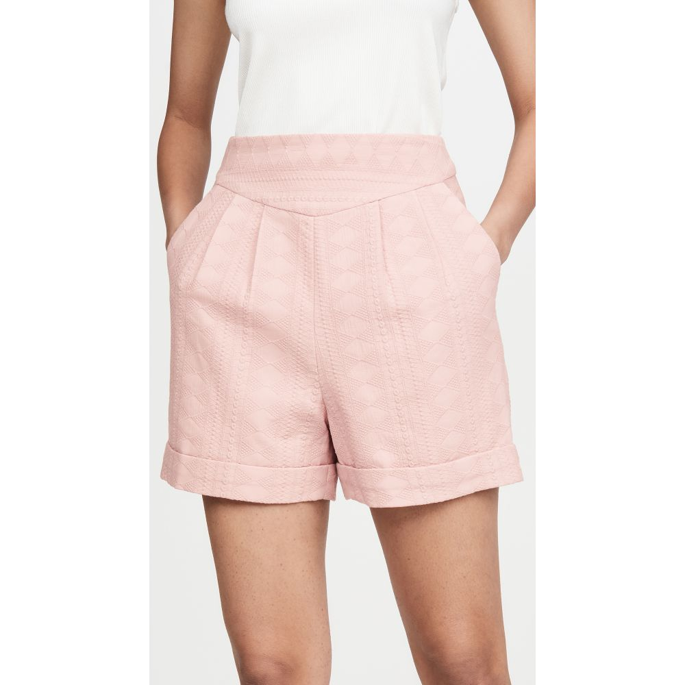 イオラネ IORANE レディース ショートパンツ ボトムス・パンツ【Eyelet Shorts】Pink