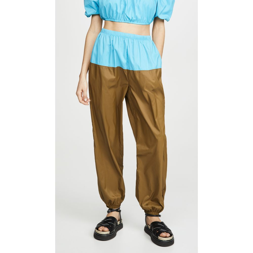スタウド STAUD レディース ボトムス・パンツ 【Birch Pants】Bright Blue/Caper