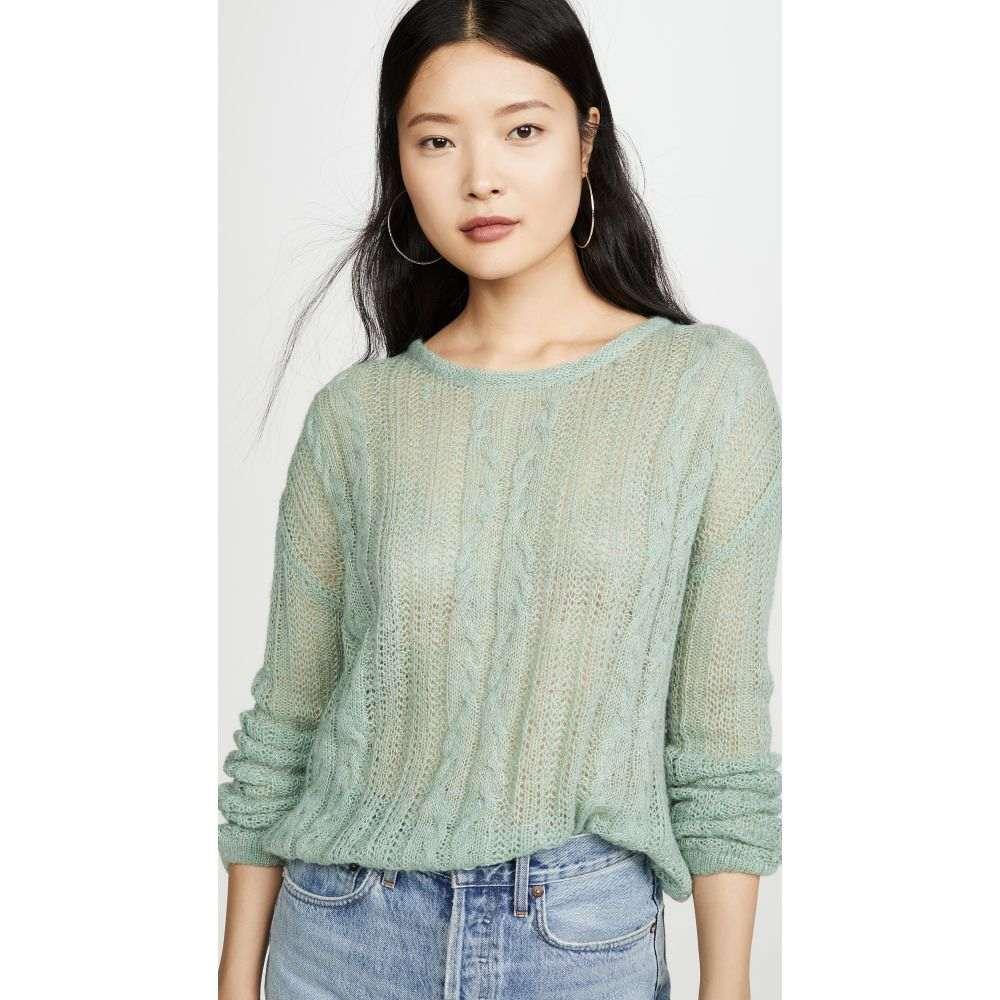 フリーピープル Free People レディース ニット・セーター トップス【Angel Soft Sweater】Mint Fresh Combo