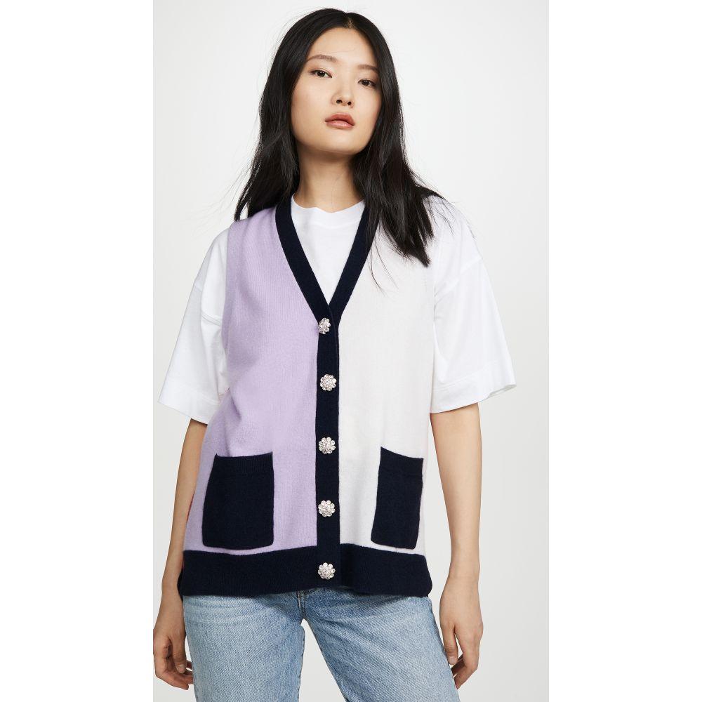 ガニー GANNI レディース トップス 【Cashmere Cardigan Vest】Multicolor