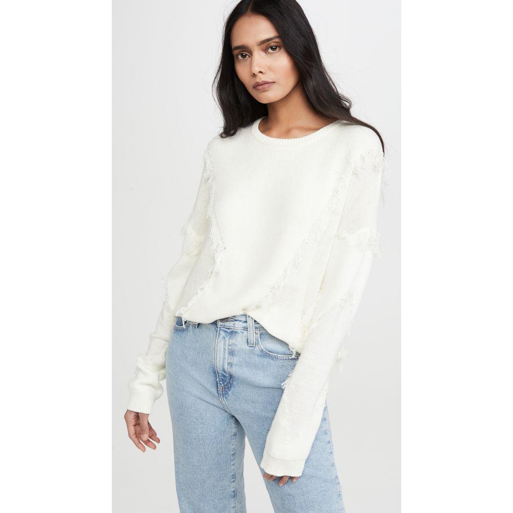 ライン アンド ドット Line & Dot レディース ニット・セーター トップス【Gabi Sweater】Off White