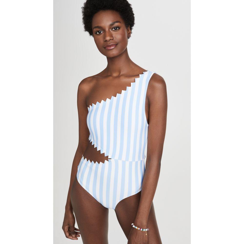 オニア Onia レディース ワンピース 水着・ビーチウェア【Betty One Piece Swimsuit】Macro Stripe Blue Bell