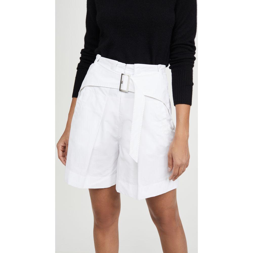 スリーワン フィリップ リム 3.1 Phillip Lim レディース ショートパンツ ボトムス・パンツ【Utility Belted High Waist Shorts】White