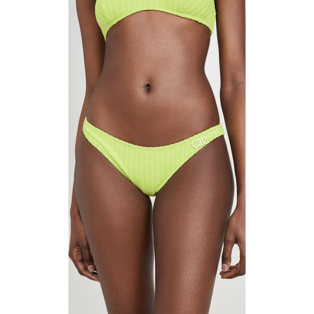 ソリッド&ストライプ Solid & Striped レディース ボトムのみ 水着・ビーチウェア【The Rachel Bikini Bottoms】Chartreuse Rib