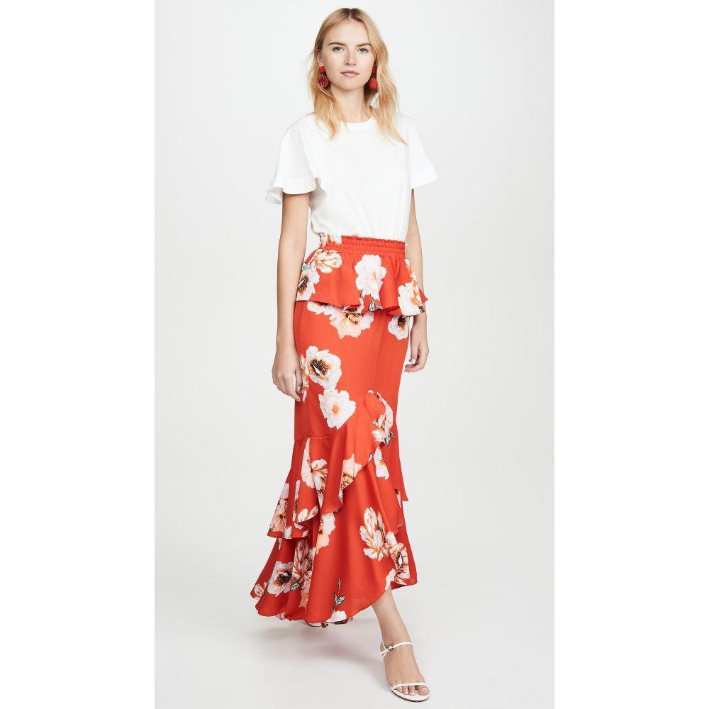 ミサ MISA レディース スカート 【Lucia Skirt】Poppy Floral