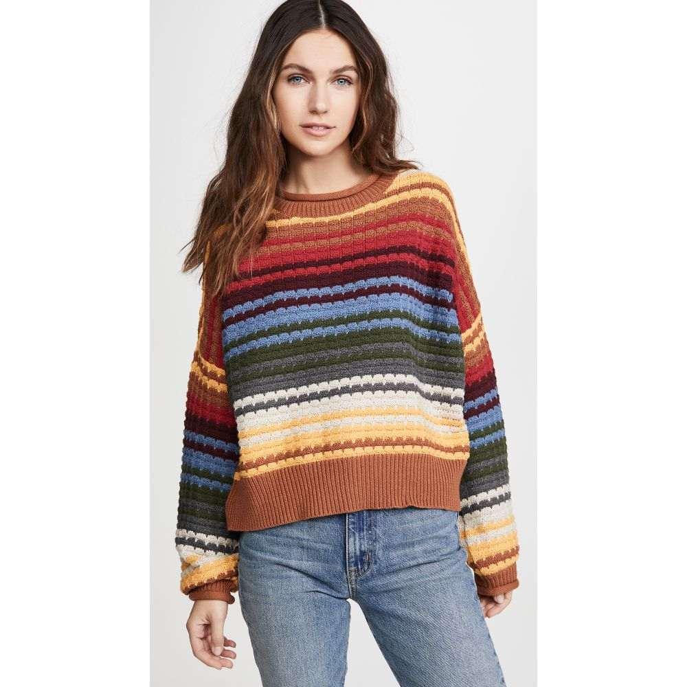 ザ グレート THE GREAT. レディース ニット・セーター トップス【The Savanna Sweater】Vista Stripe