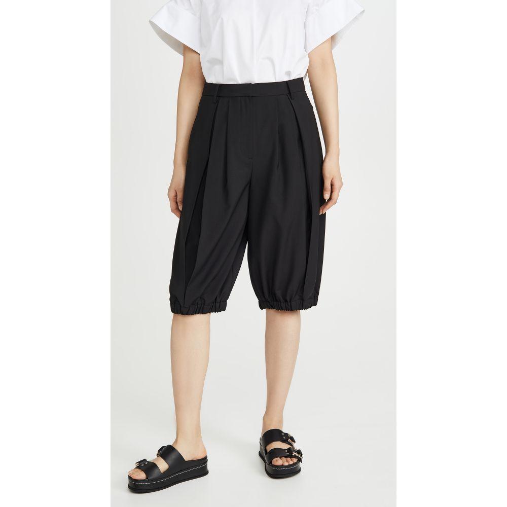 ティビ Tibi レディース ショートパンツ ボトムス・パンツ【Tropical Bloomer Shorts】Black