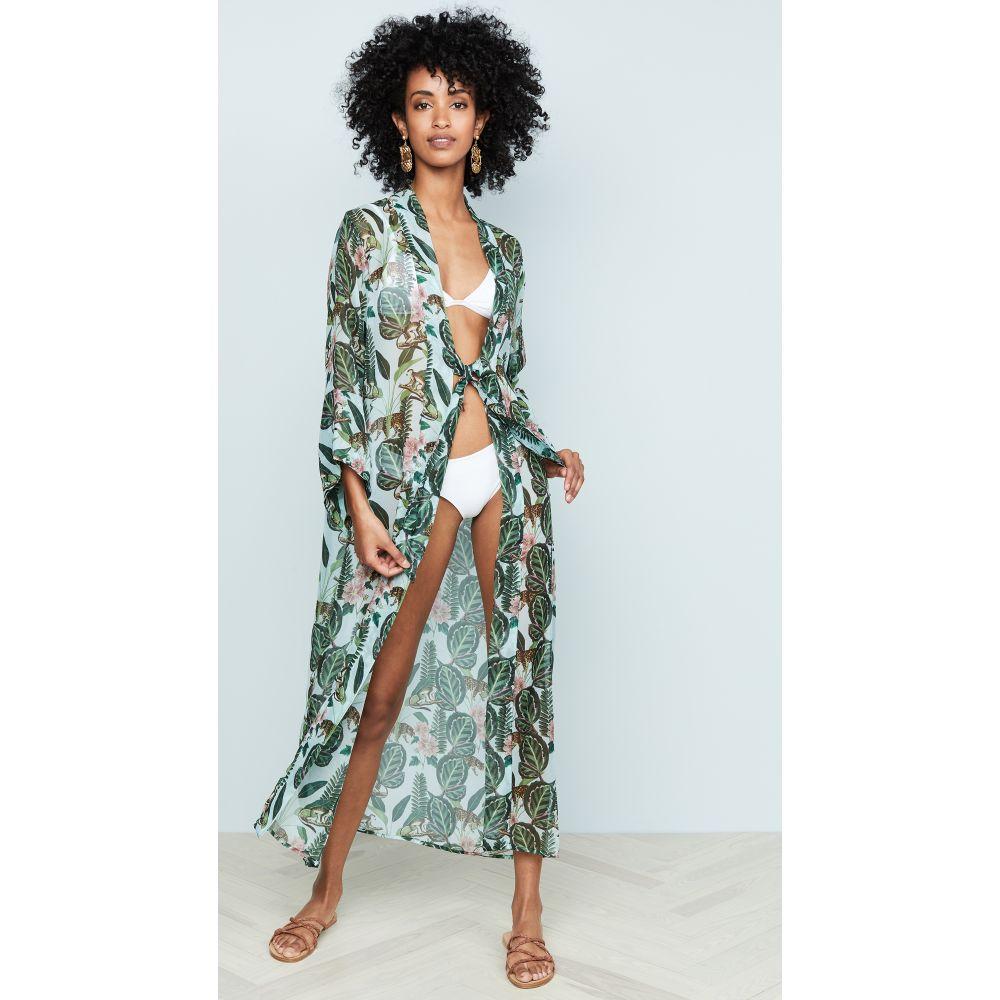 ビンディア Bindya レディース ビーチウェア 水着・ビーチウェア【Marbella Kimono】Tropics