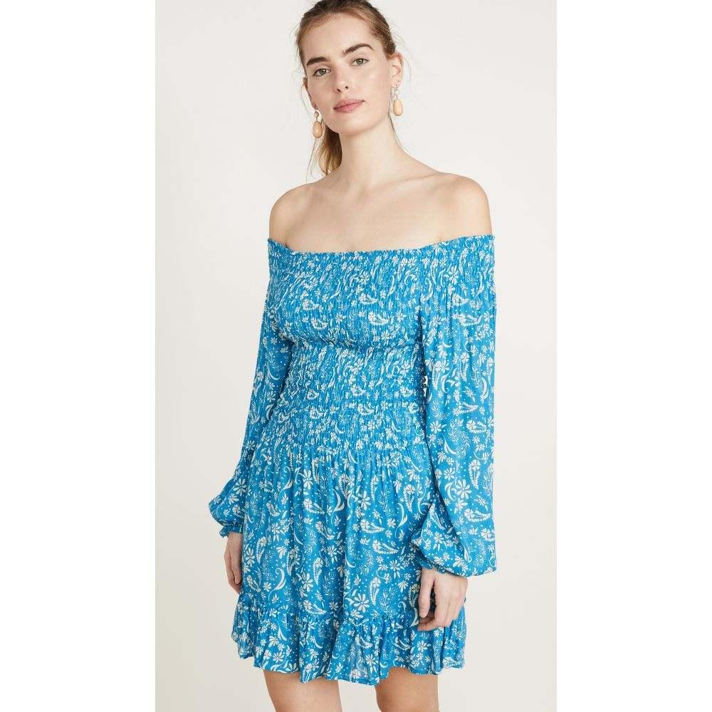 クールチェンジ coolchange レディース ビーチウェア ワンピース・ドレス 水着・ビーチウェア【Stevie Dress】Cobalt/Vanilla Meadow