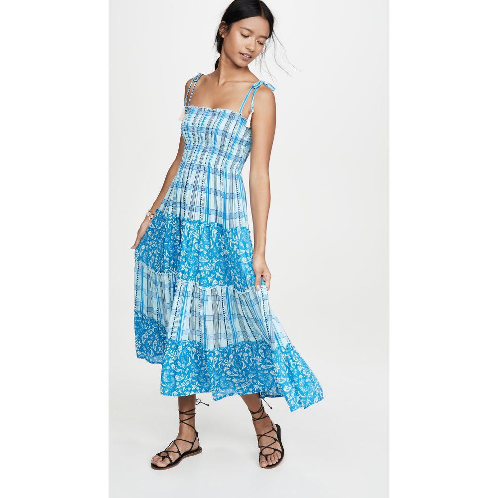 クールチェンジ coolchange レディース ビーチウェア ワンピース・ドレス 水着・ビーチウェア【Penny Dress】Cobalt Sunset Plaid