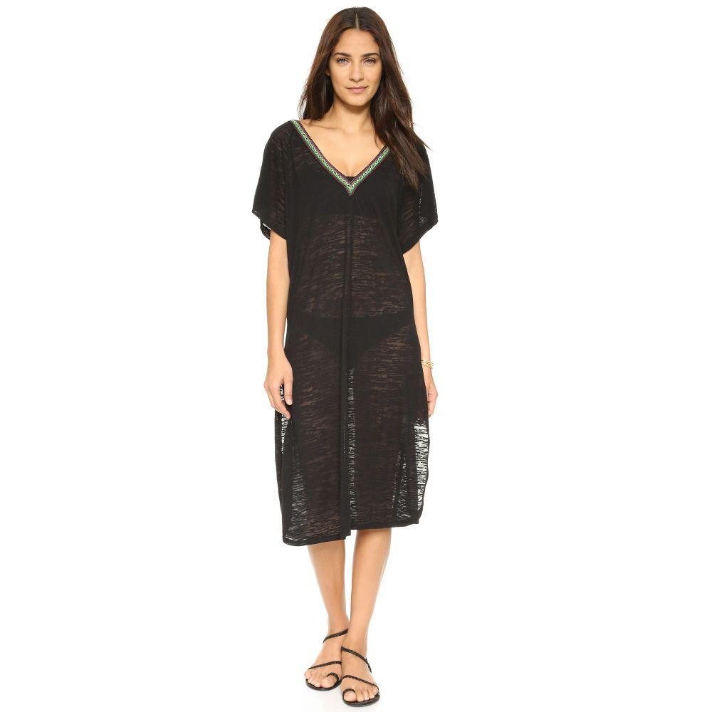 ピトゥサ Pitusa レディース ビーチウェア ワンピース・ドレス 水着・ビーチウェア【V Back Dress】Black