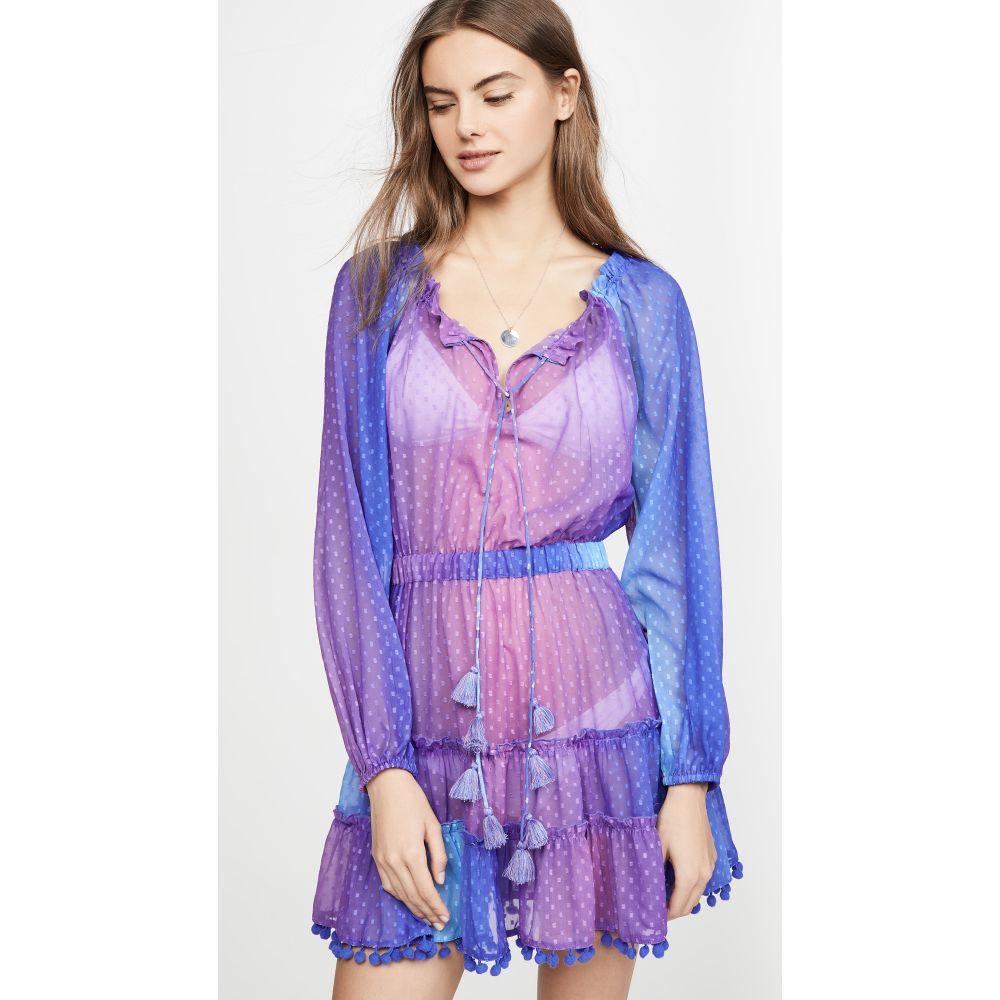 プラヤ ルシラ Playa Lucila レディース ビーチウェア ワンピース・ドレス 水着・ビーチウェア【Ombre Cover Up Dress】Purple