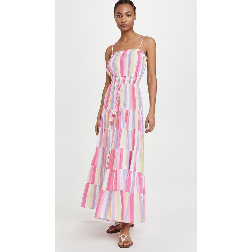 プラヤ ルシラ Playa Lucila レディース ビーチウェア ワンピース・ドレス 水着・ビーチウェア【Patchwork Dress】Multi