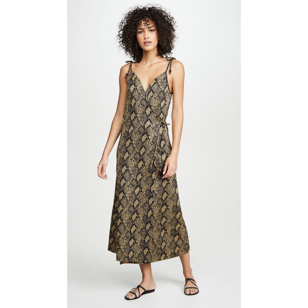 ソリッド&ストライプ Solid & Striped レディース ビーチウェア ワンピース・ドレス 水着・ビーチウェア【Tie Dress】Snake