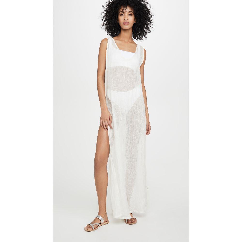 ビタミン A Vitamin A レディース ビーチウェア ワンピース・ドレス 水着・ビーチウェア【Tradewinds Dress】Lumiere Stripe