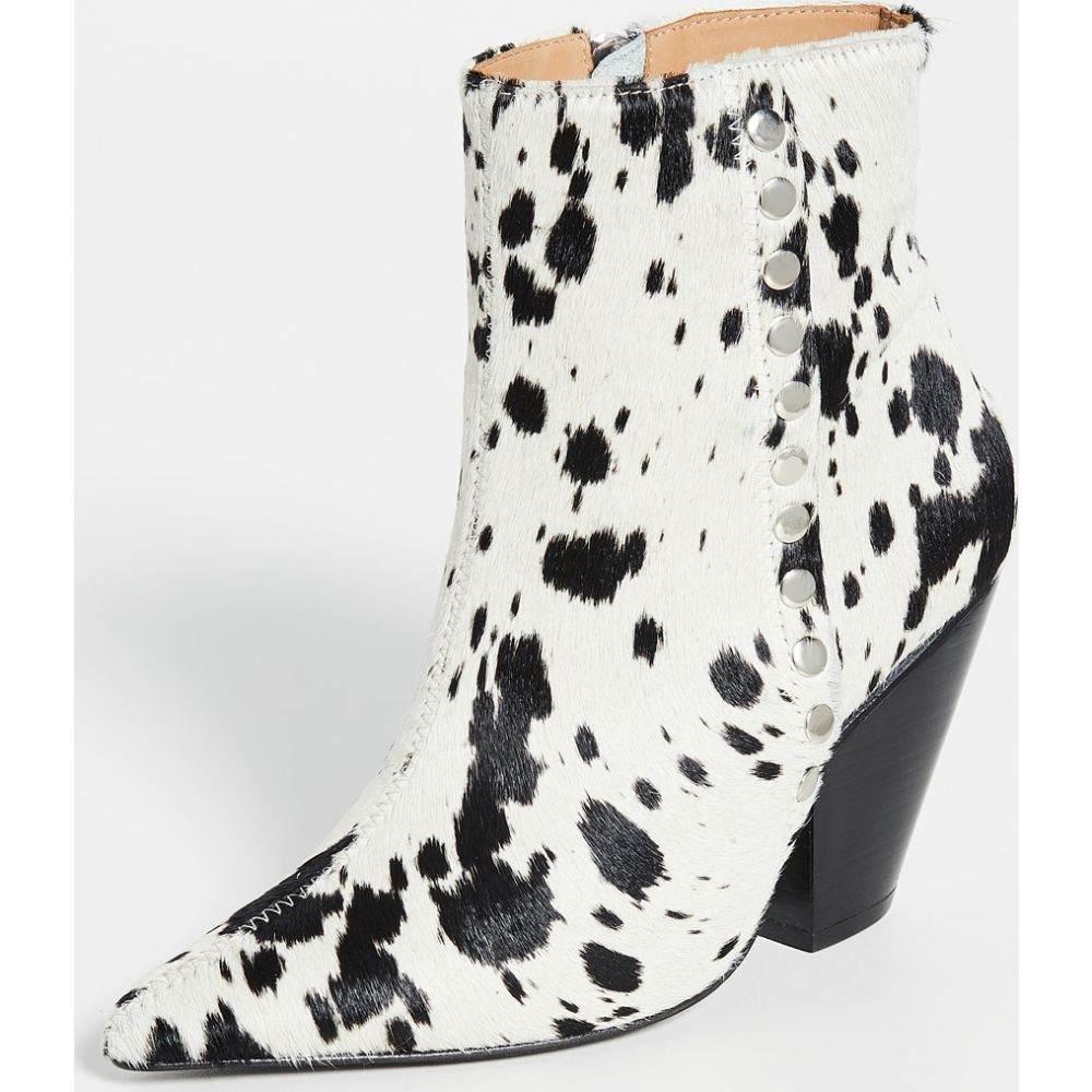 トーガ Toga Pulla レディース ブーツ ブーティー シューズ・靴【Spotted Booties】White/Black