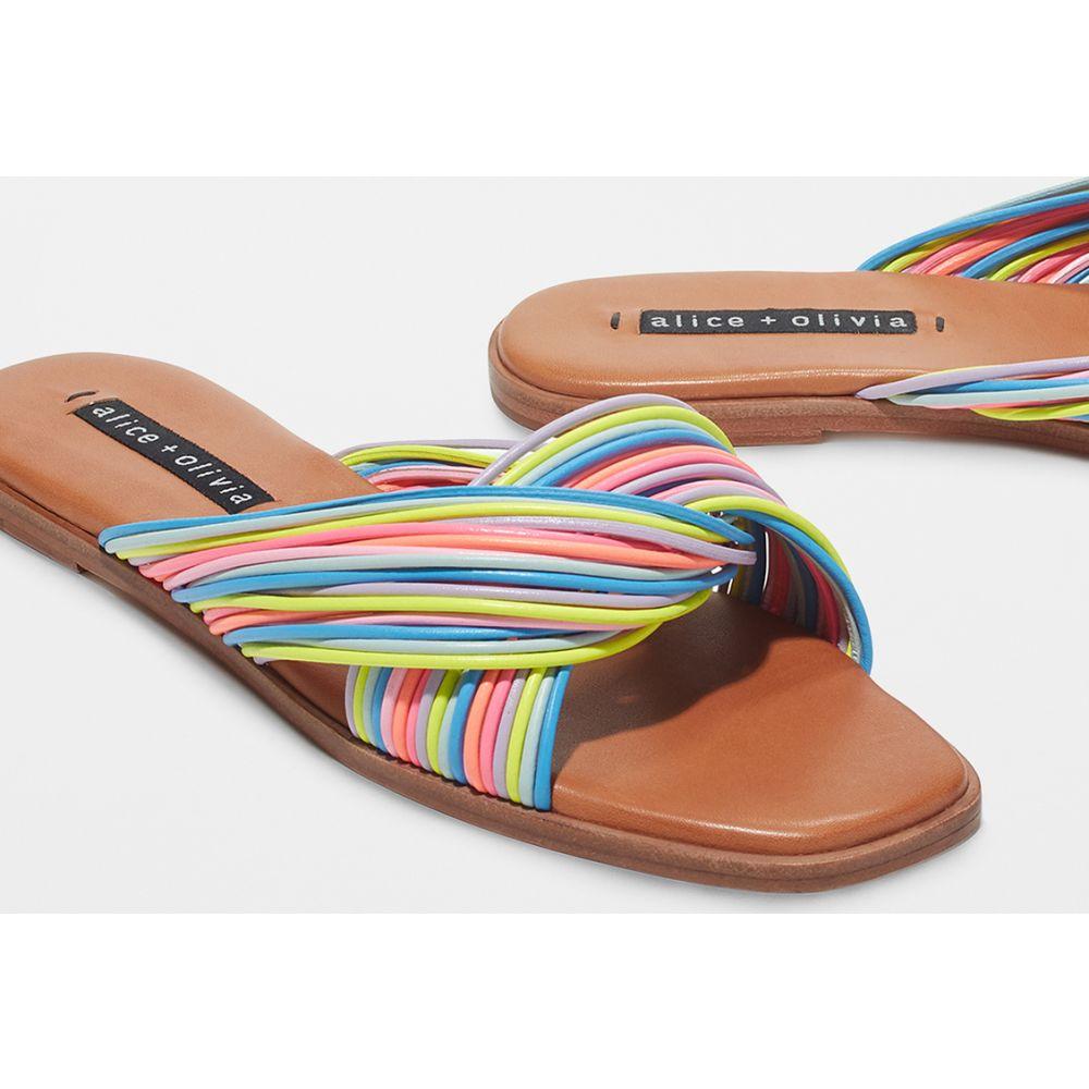 アリス アンド オリビア alice + olivia レディース サンダル・ミュール シューズ・靴【Coree Slides】Multi