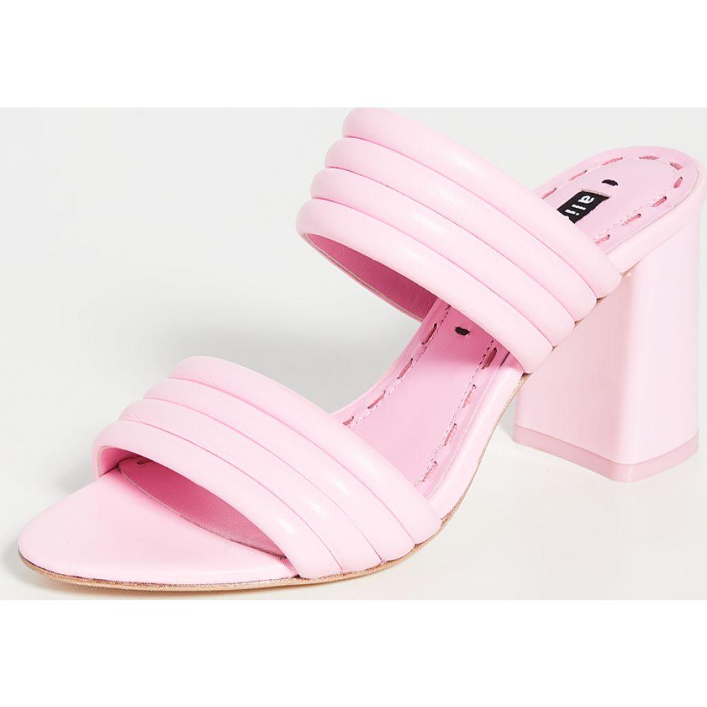 アリス アンド オリビア alice + olivia レディース サンダル・ミュール シューズ・靴【Lori Mules】Electric Pink