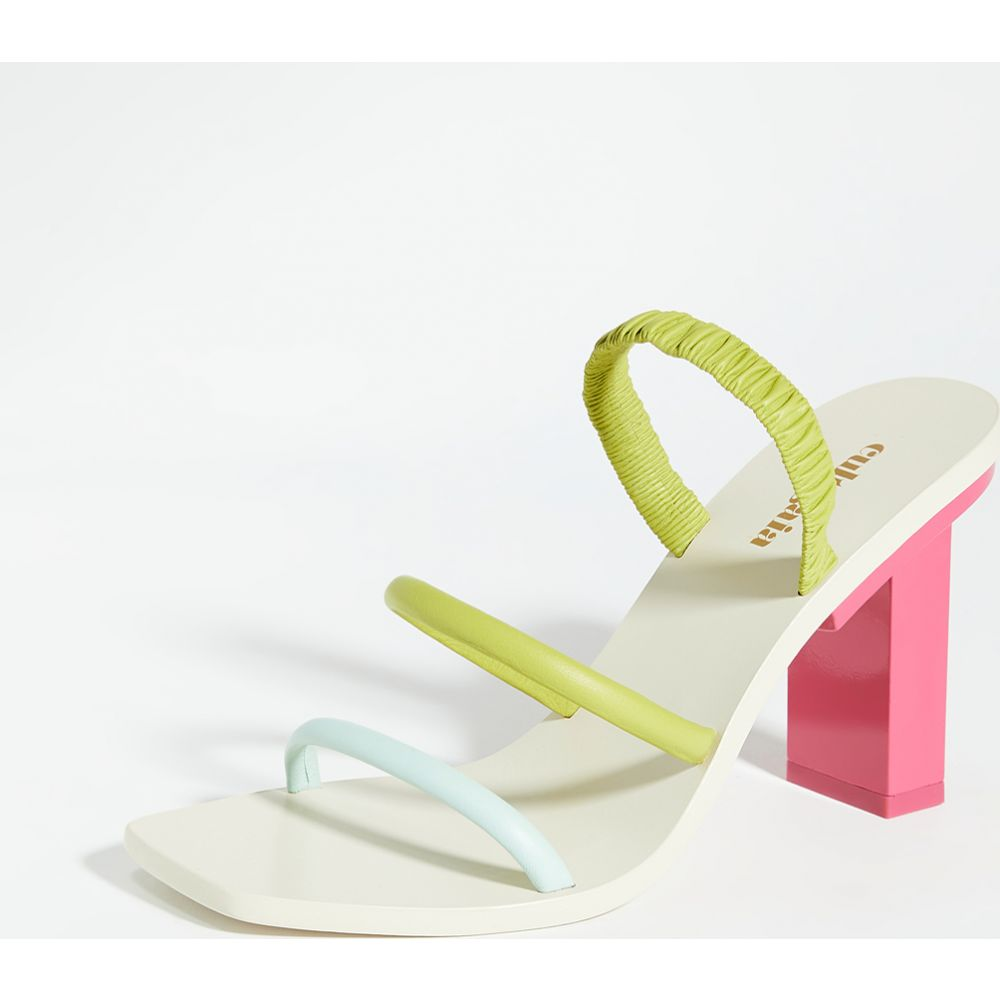 カルト ガイア Cult Gaia レディース サンダル・ミュール シューズ・靴【Kaia Heel Sandals】Hibiscus Multi