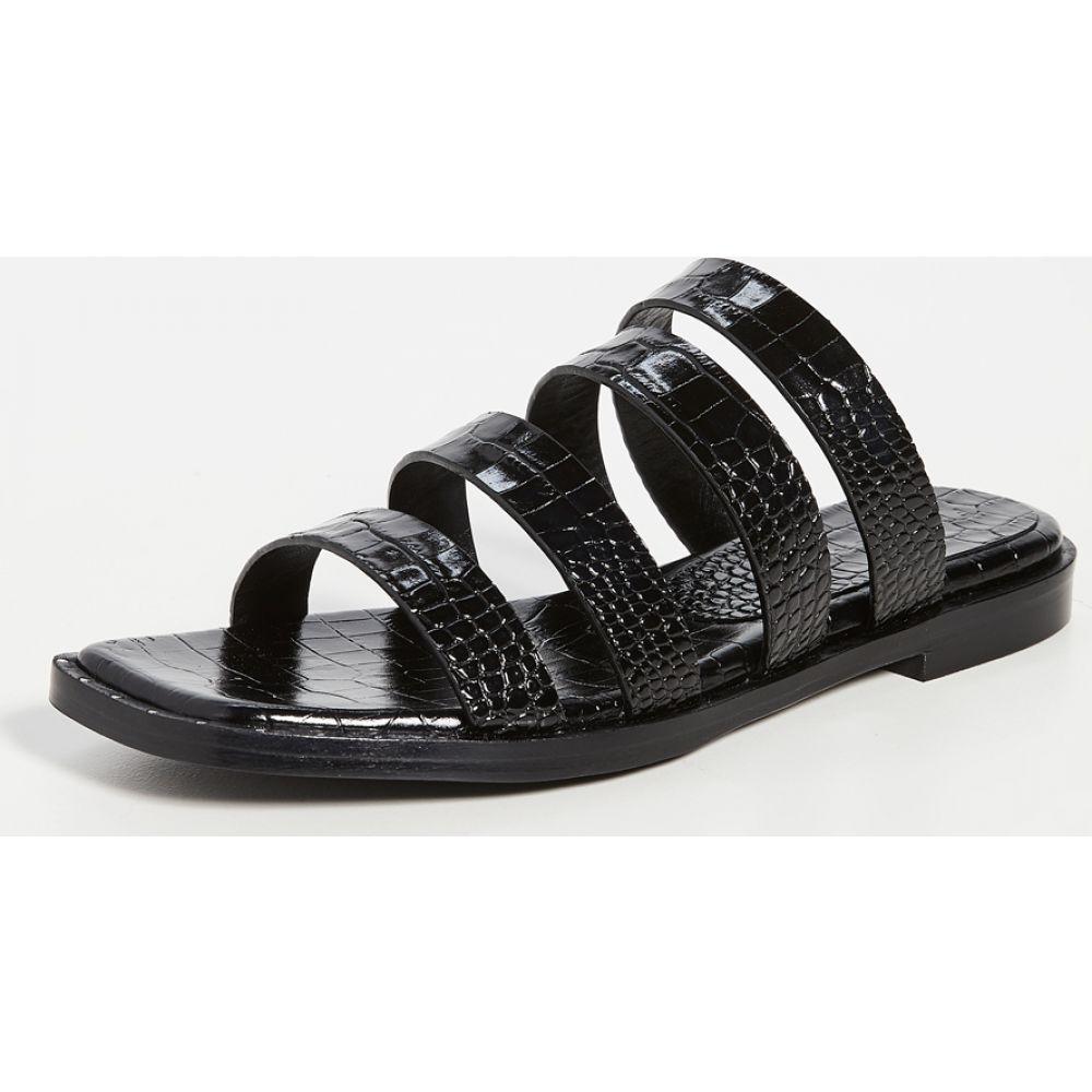 フリーダ サルバドール Freda Salvador レディース サンダル・ミュール シューズ・靴【Donna Sandals】Black
