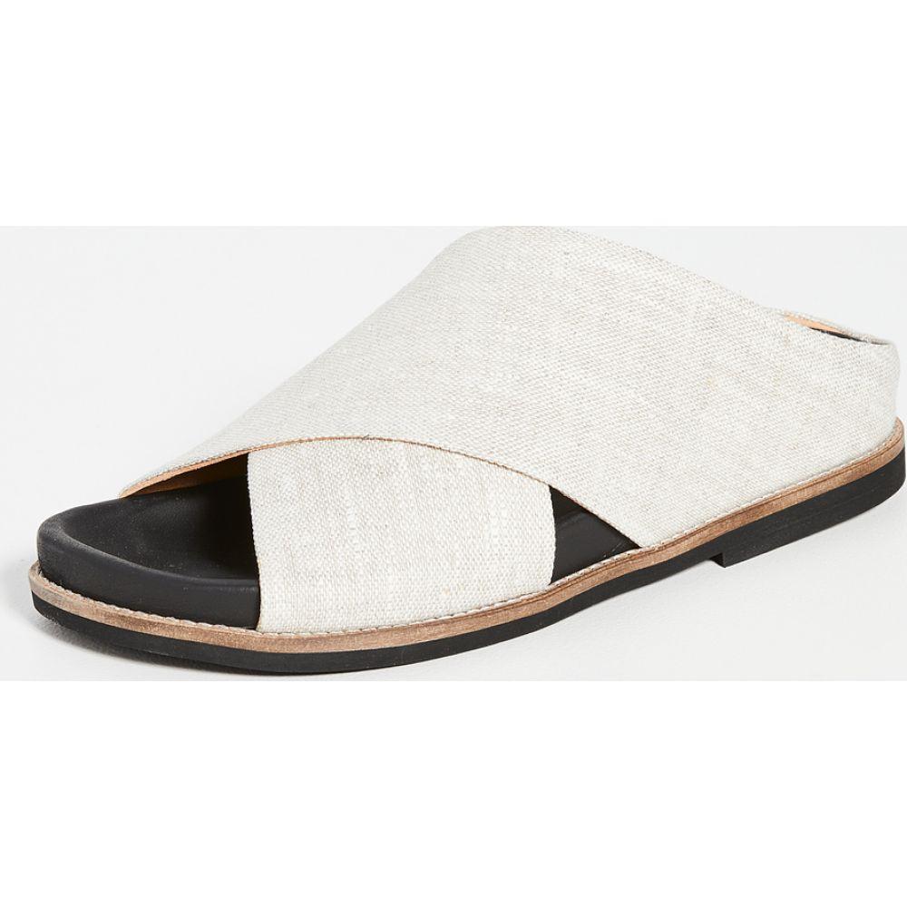 ガニー GANNI レディース サンダル・ミュール シューズ・靴【Flat Slides】Nature