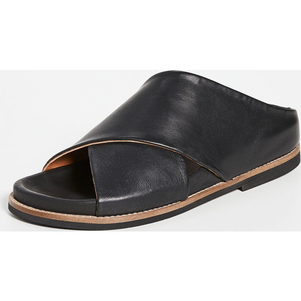 ガニー GANNI レディース サンダル・ミュール シューズ・靴【Flat Slides】Black