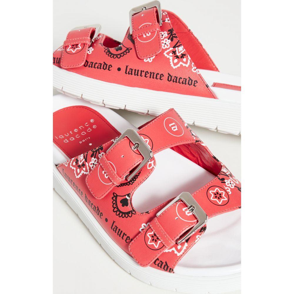 ローレンス ディケイド Laurence Dacade レディース サンダル・ミュール シューズ・靴【Austin Slides】Red
