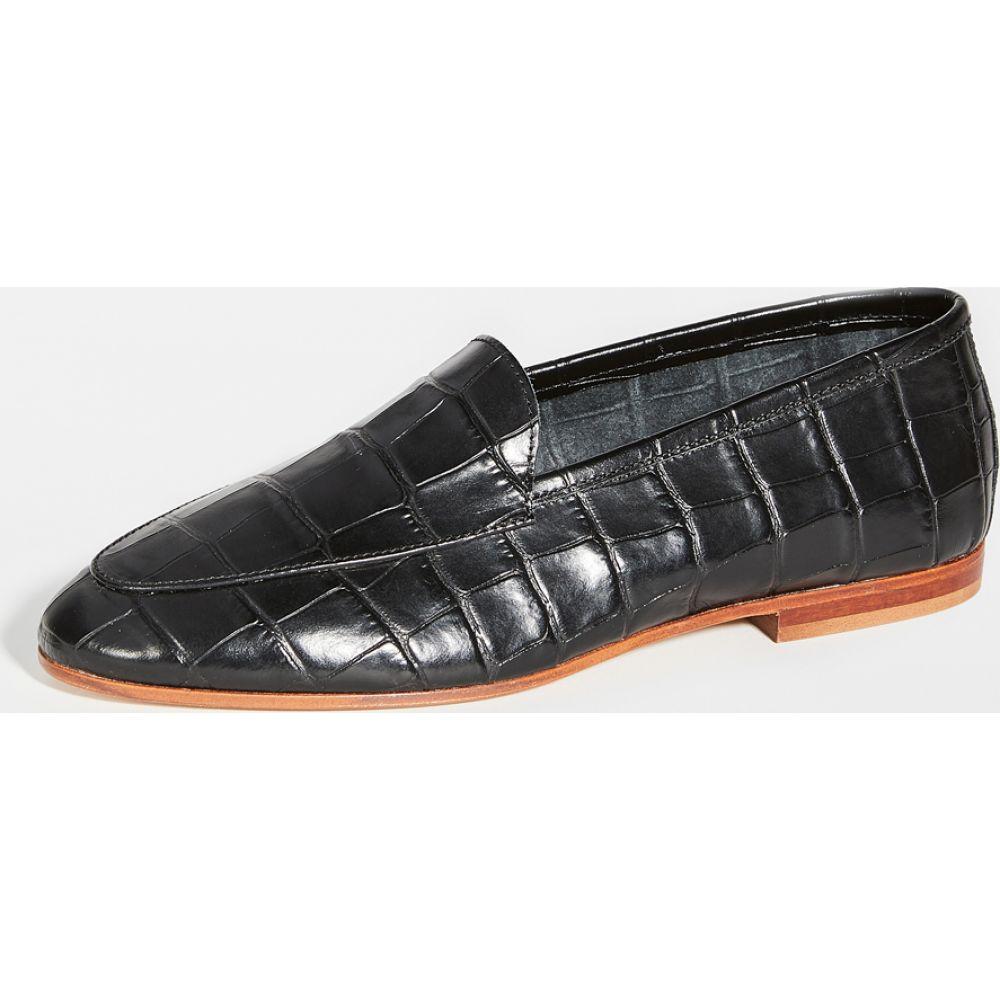 マンサーガブリエル Mansur Gavriel レディース ローファー・オックスフォード シューズ・靴【Sock Loafers】Black/Black