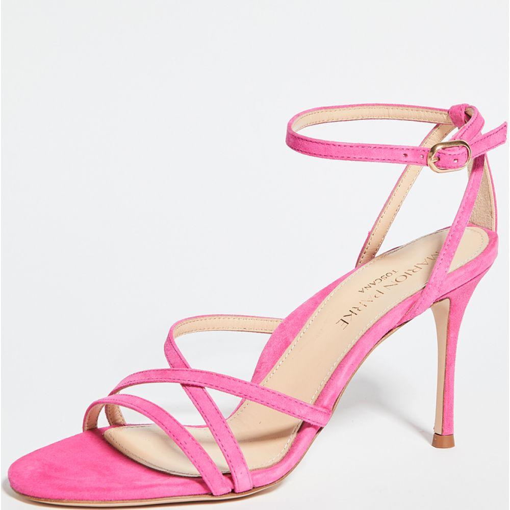 マリオンパーク Marion Parke レディース サンダル・ミュール シューズ・靴【Lillian Strappy Sandals】Hot Pink