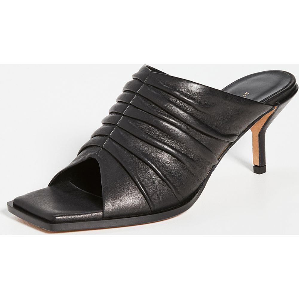 スリーワン フィリップ リム 3.1 Phillip Lim レディース サンダル・ミュール シューズ・靴【Georgia Ruched Mules 60mm】Black