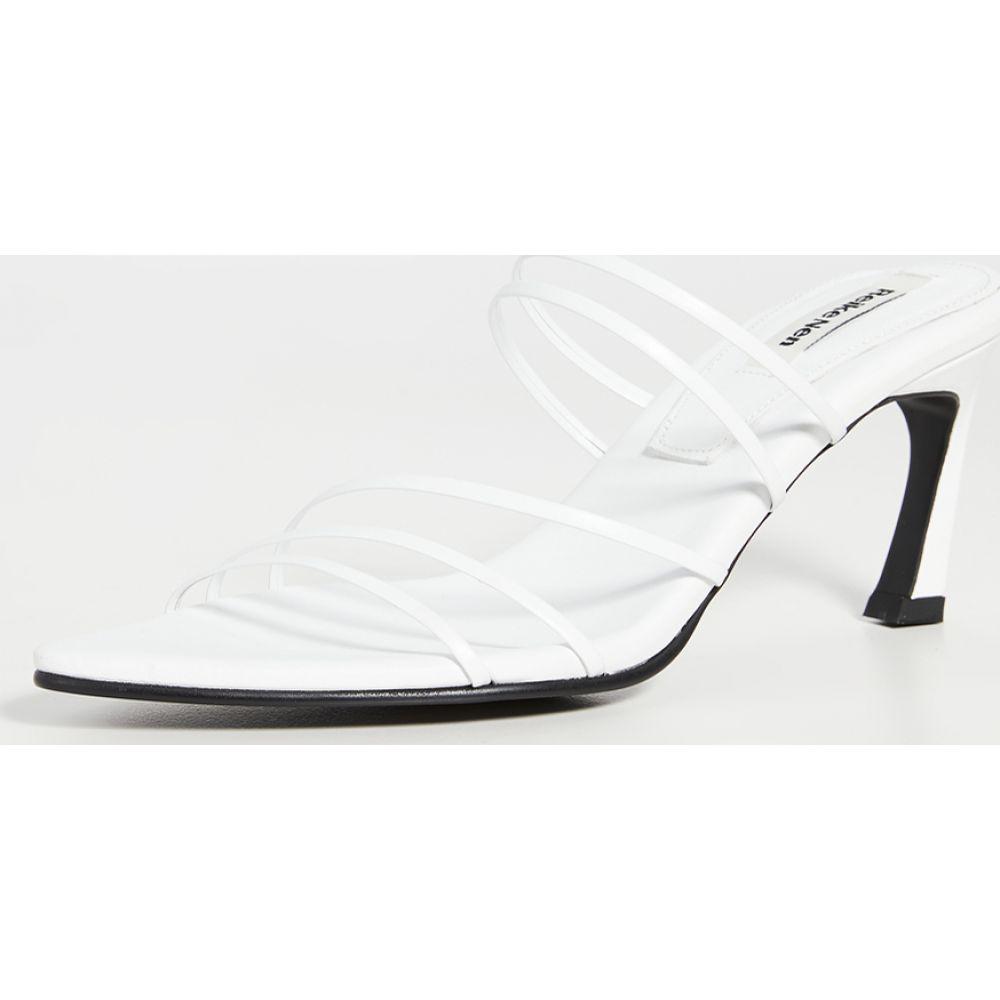 レイクネン Reike Nen レディース サンダル・ミュール シューズ・靴【Five Strings Pointed Sandals】White