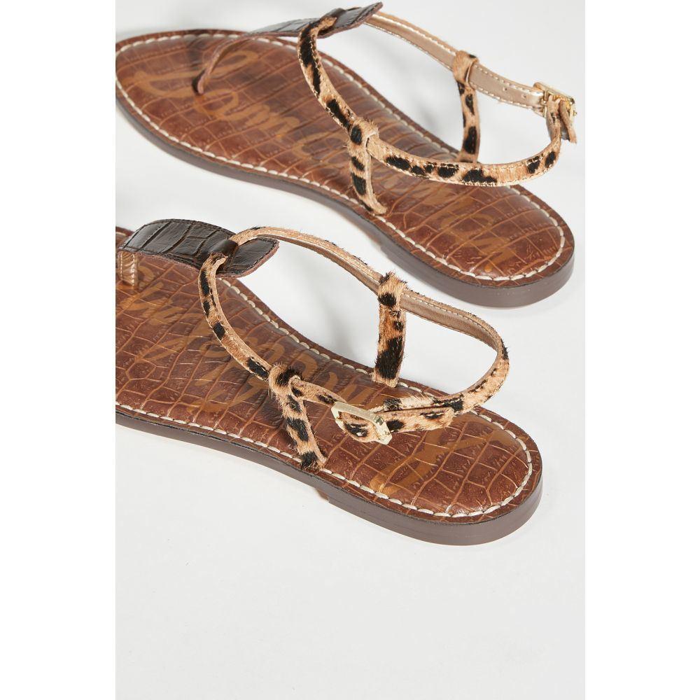 サム エデルマン Sam Edelman レディース サンダル・ミュール シューズ・靴 Gigi Sandals Brown CrocqMUVSzp