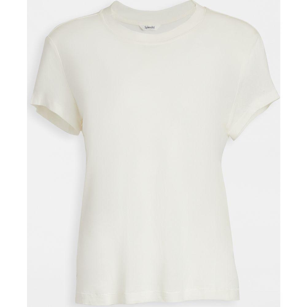 スプレンディッド Splendid レディース Tシャツ トップス【Hudson Tee】White