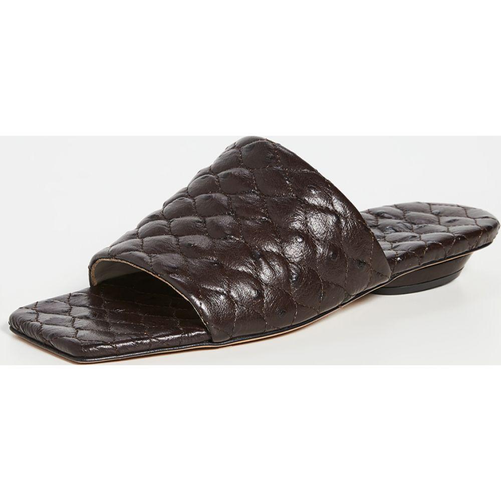 ティビ Tibi レディース サンダル・ミュール シューズ・靴【Han Quilted Sandals】Tobacco