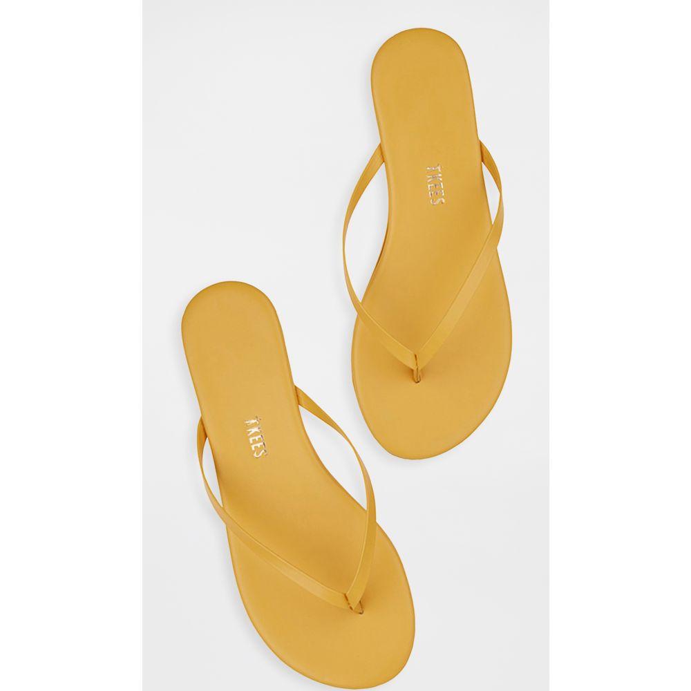 ティキーズ TKEES レディース ビーチサンダル シューズ・靴【Solids Flip Flops】No.