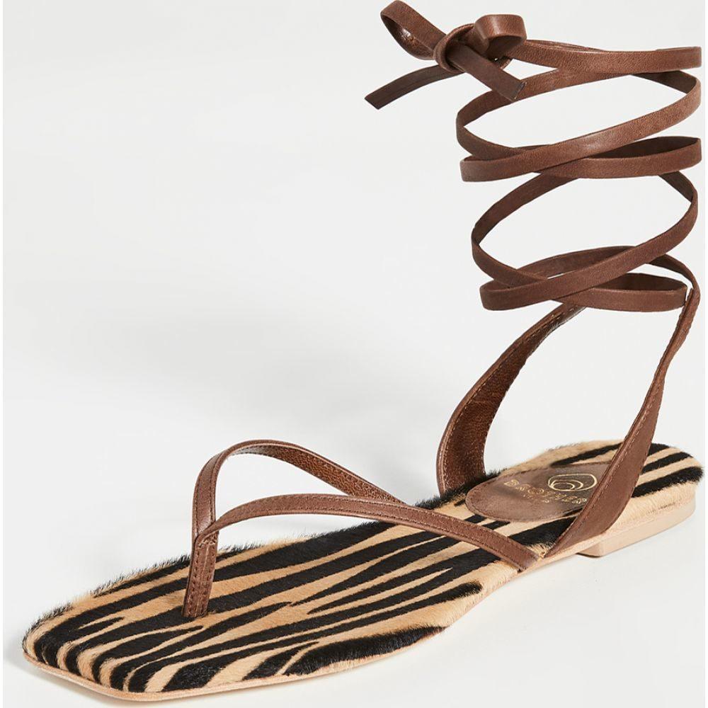 ブラザーヴェリーズ Brother Vellies レディース サンダル・ミュール シューズ・靴【Thong Sandals】Zebra